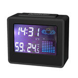 Multifunctional Weather Station Clock